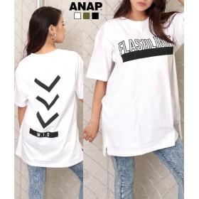 【セール開催中】ANAP(アナップ)ロゴプリントTシャツチュニック