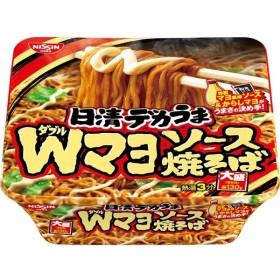 日清食品 デカうま Wマヨソース焼そば 153g