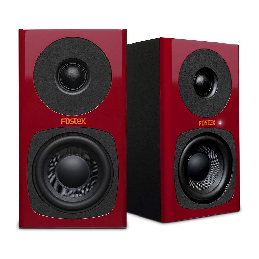 【公司貨】Fostex PA-3 PA3 主動式 3吋監聽喇叭 喇叭 兩件式音響 紅色