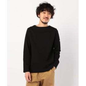 (FREDY & GLOSTER/フレディアンドグロスター)バスクボーダーシャツ/メンズ ブラック