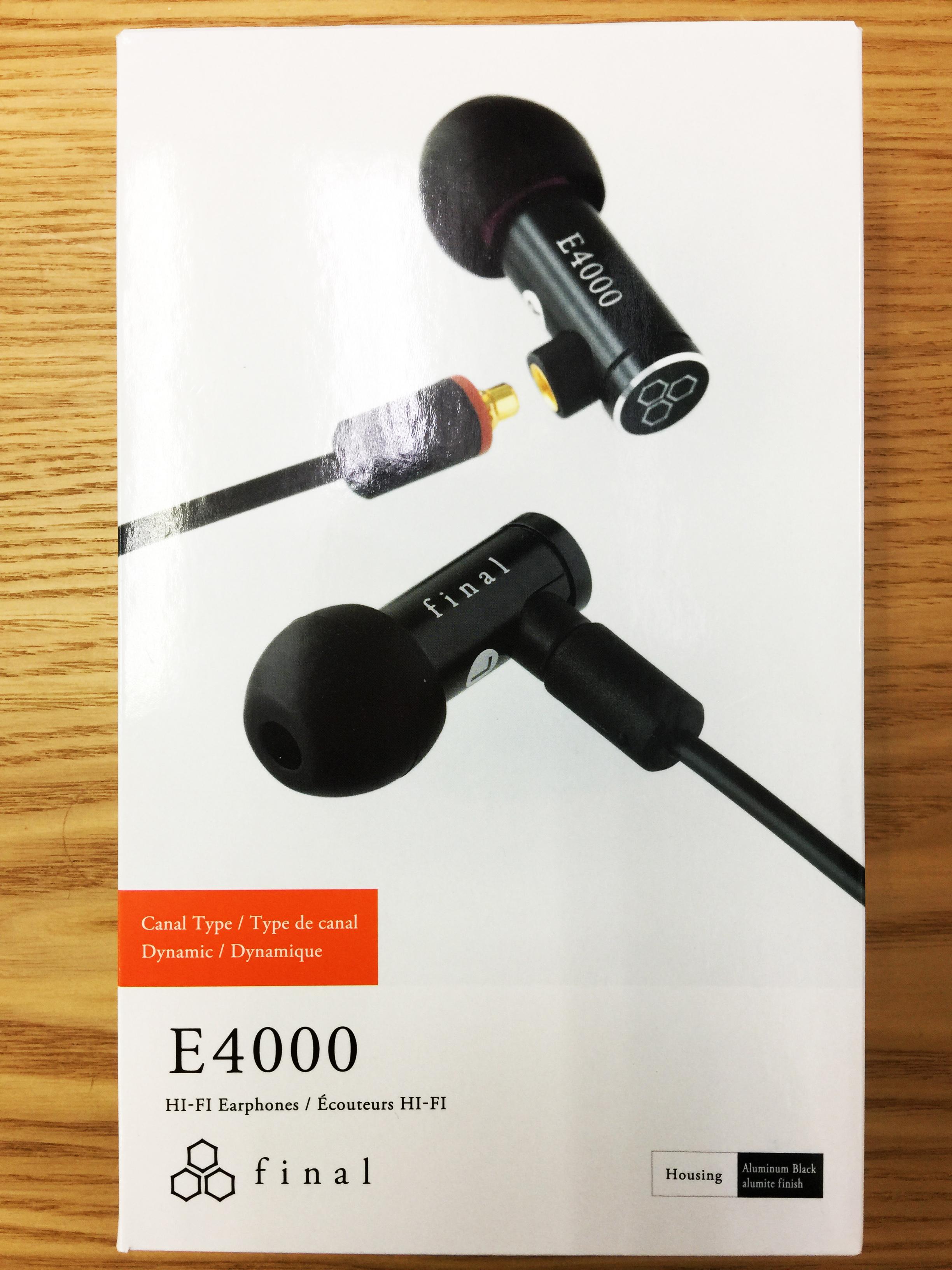【宏華資訊廣場】日本Final - E4000耳道式耳機 公司貨