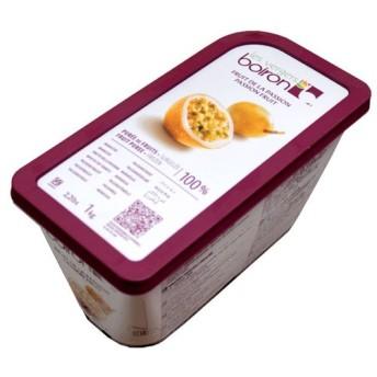 冷凍フルーツ ボワロン 冷凍ピューレ パッション 1kg