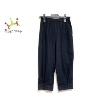 バレンシアガ BALENCIAGA パンツ サイズ36 S レディース 黒 薄手 新着 20190711