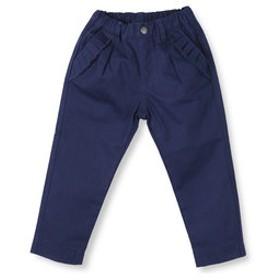 【ブランシェス:パンツ】ポケットフリルロングパンツ