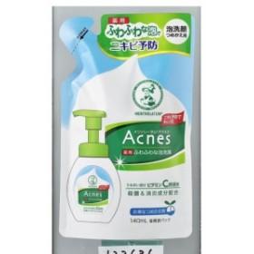 ロート製薬 アクネスふわふわな泡洗顔替 140ml|4987241123636(tc)