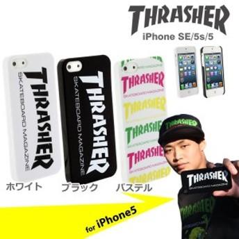 iPhoneSE iPhone5s iPhone5 ケース スマホケース THRASHERスラッシャーハードケース メール便 送料無料