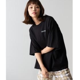 [マルイ]【セール】フラワーバックフォトTシャツ/ウィゴー(レディース)(WEGO)