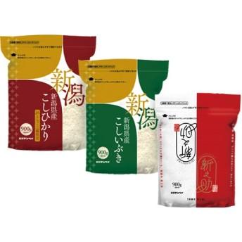 新潟県産 銘柄米3種セット