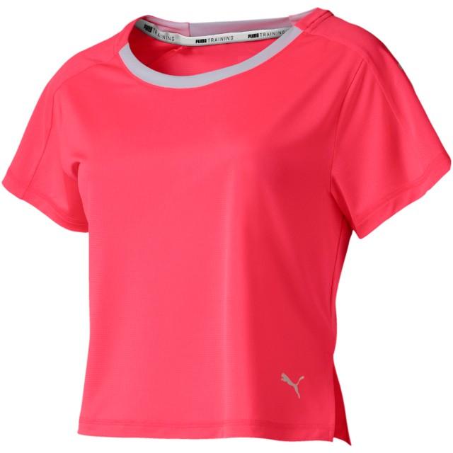【プーマ公式通販】 プーマ BE BOLD ロゴグラフィック SS ウィメンズ トレーニング Tシャツ 半袖 ウィメンズ Pink Alert  PUMA.com