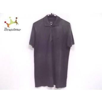 ディーゼル DIESEL 半袖ポロシャツ サイズM メンズ ダークグレー ジップアップ 新着 20190711