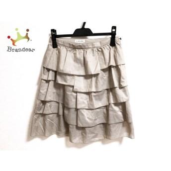 ロイスクレヨン Lois CRAYON スカート サイズM レディース 美品 ベージュ フリル   スペシャル特価 20191022