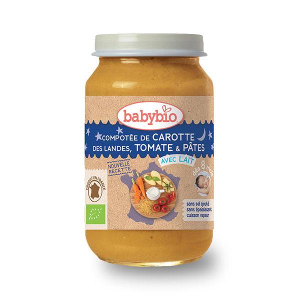 法國Babybio 生機鮮蔬晚安義大利麵泥200g