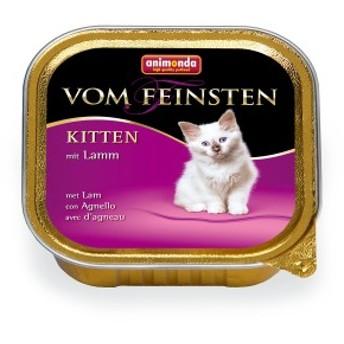 アニモンダ フォムファインステン キツン 鳥肉・豚肉・牛肉  100g入り パテタイプ 仔猫用 | cat visions