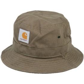 《期間限定 セール開催中》CARHARTT メンズ 帽子 ミリタリーグリーン S/M コットン 100%