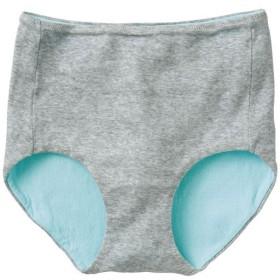 【レディース】 綿100%縫い目が当たりにくいショーツ(はきこみ丈スタンダード) - セシール ■カラー:グレー(杢) ■サイズ:LL,M,L,3L
