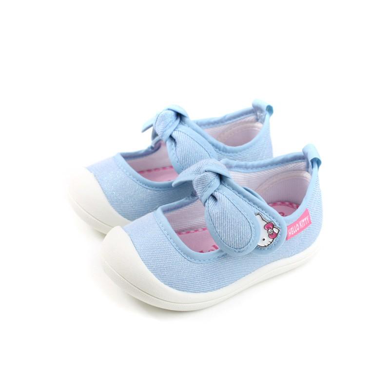 Hello Kitty 凱蒂貓 娃娃鞋 水藍色 小童 童鞋 719803 no794