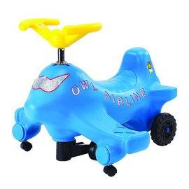 【淘氣寶寶】【CHING-CHING親親】飛機扭扭車(藍) (CA-06 p09)