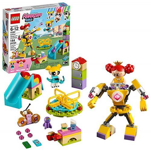 LEGO 樂高 The Powerpuff Girls Bubbles' Playground Showdown 41287 Building Kit (144 Piece)