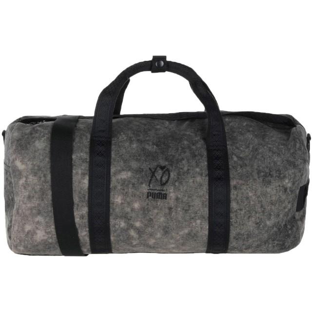 《セール開催中》PUMA メンズ 旅行バッグ スチールグレー 100% コットン