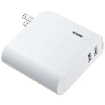 AC充電器一体型モバイルバッテリー(5200mAh) BTL-RDC17W