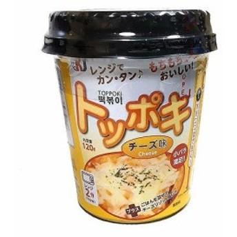 ニュージャパンカップトッポキチーズ味120gまとめ買い(×12) 4545732860615(tc)