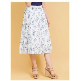 31 Sons de mode(トランテアン ソン ドゥ モード)【スカート】花柄プリーツスカート