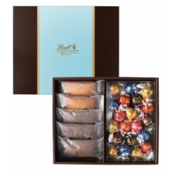 リンツ チョコレート(Lindt)焼き菓子ギフト フィナンシェ5個・リンドール20個