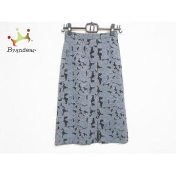 アリスオリビア ロングスカート サイズ0 XS レディース 美品 65173-1-40090 メッシュ/花柄 新着 20190830