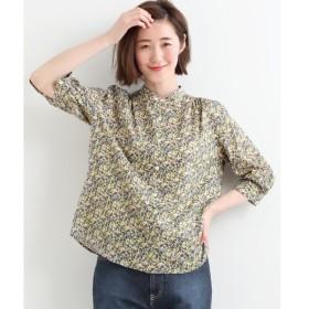 NIMES / ニーム LIBERTYスタンドカラーシャツ