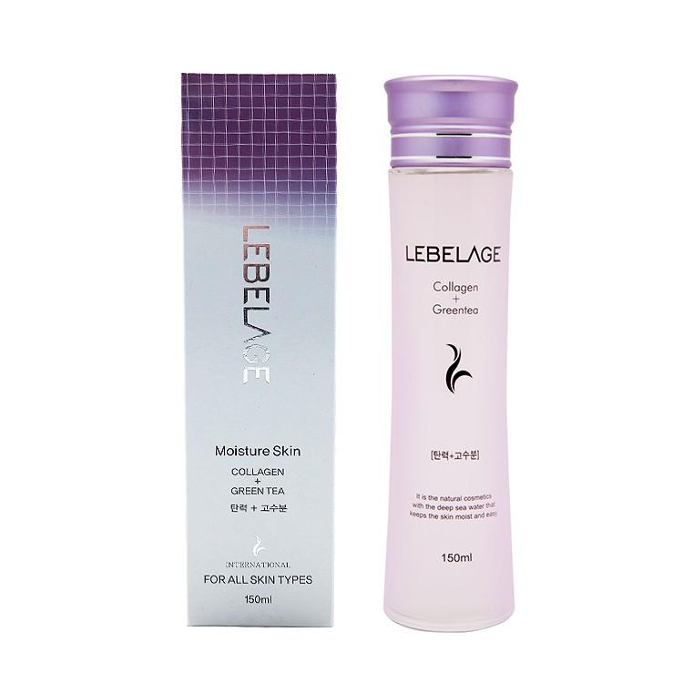 韓國 LEBELAGE 膠原蛋白+綠茶保濕化妝水(150ml)【小三美日】D156362