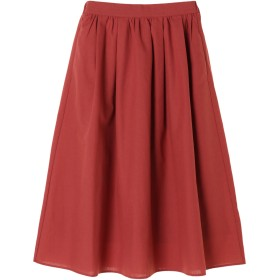【6,000円(税込)以上のお買物で全国送料無料。】アキイロカラータックギャザースカート