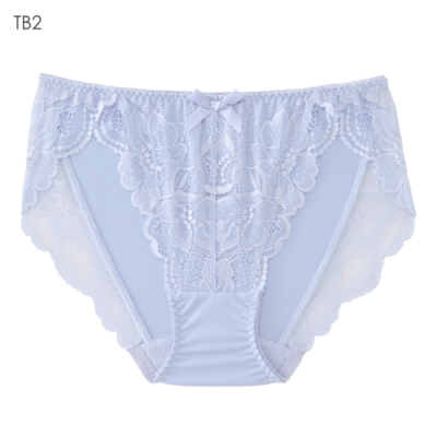 aimerfeel 花卉蕾絲性感內褲-冰藍色-603722-TB2