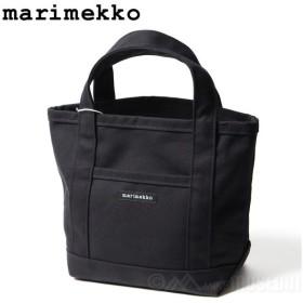 マリメッコ marimekko ミニペルスカッシ2 トートバッグ MINI PERUSKASSI 2 BLACK 444000 送料無料