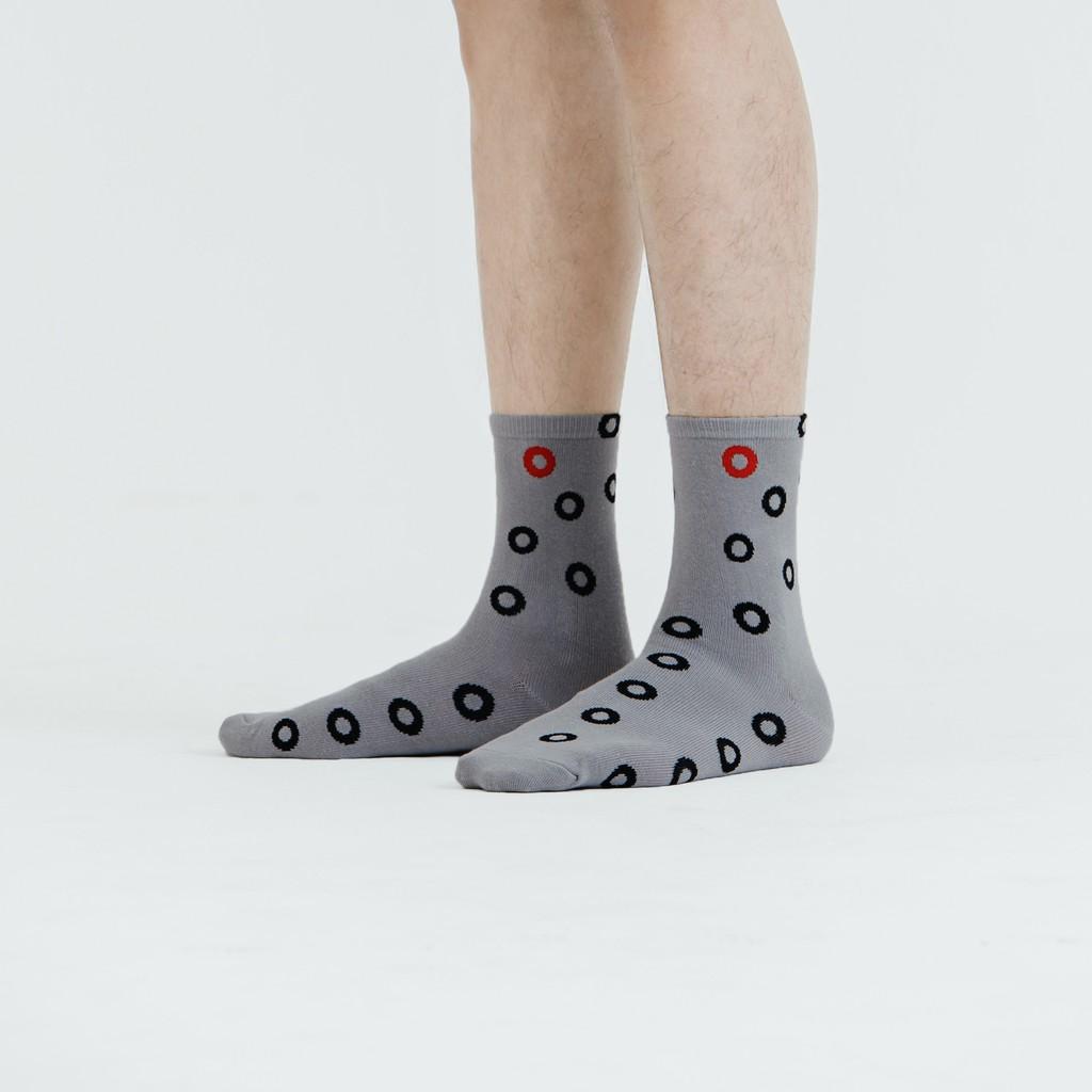 煽動者 Bubble wrap 灰色 中性襪子
