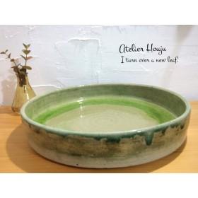 [オーダー品] 大皿・大鉢(約25cm) ︎一点もの 白 盛り皿