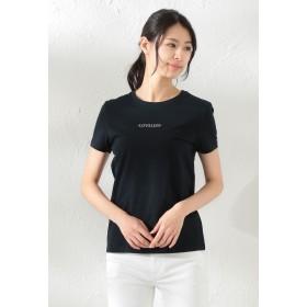 LOVELESS 【LOVELESS】WOMEN ポリクレストLOGOTシャツ Tシャツ・カットソー,ネイビー1