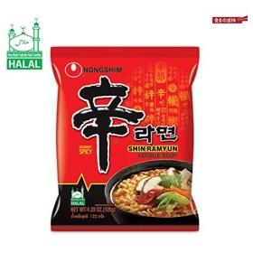 ハラール認証 辛ラーメン 袋麺タイプ 120g 農心 HALAL