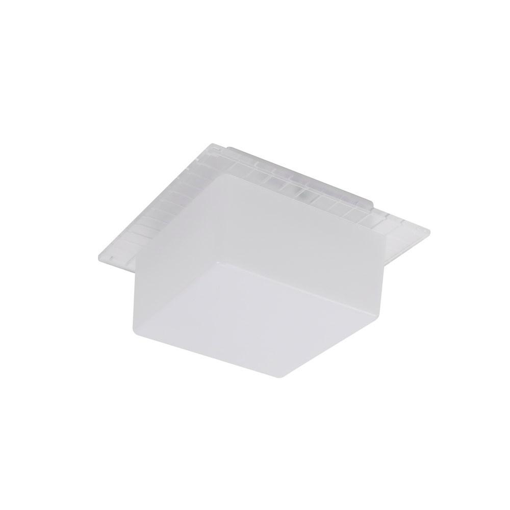 Panasonic LED方形壁燈 5W 白光 (透明外框)