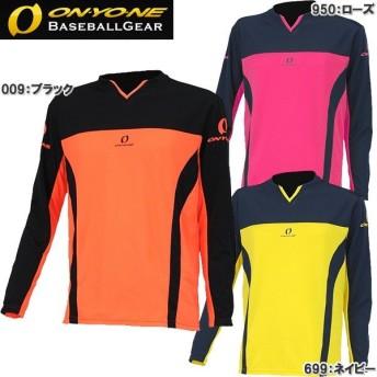 オンヨネ ドライロングTシャツ 野球 トレーニングウェア OKJ98981