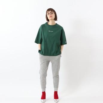 ウィメンズ Tシャツ 19FW【秋冬新作】チャンピオン(CW-Q301)【5400円以上購入で送料無料】