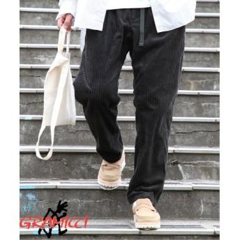 JOURNAL STANDARD 《予約》GRAMICCI×JS / グラミチ別注 : 親子コール ルーズフィット パンツ ブラック S