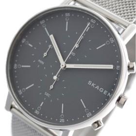 スカーゲン SKAGEN 腕時計 メンズ SKW6464 シグネチャー SIGNATUR クォーツ グレー シルバー グレー(バンド調整器付)