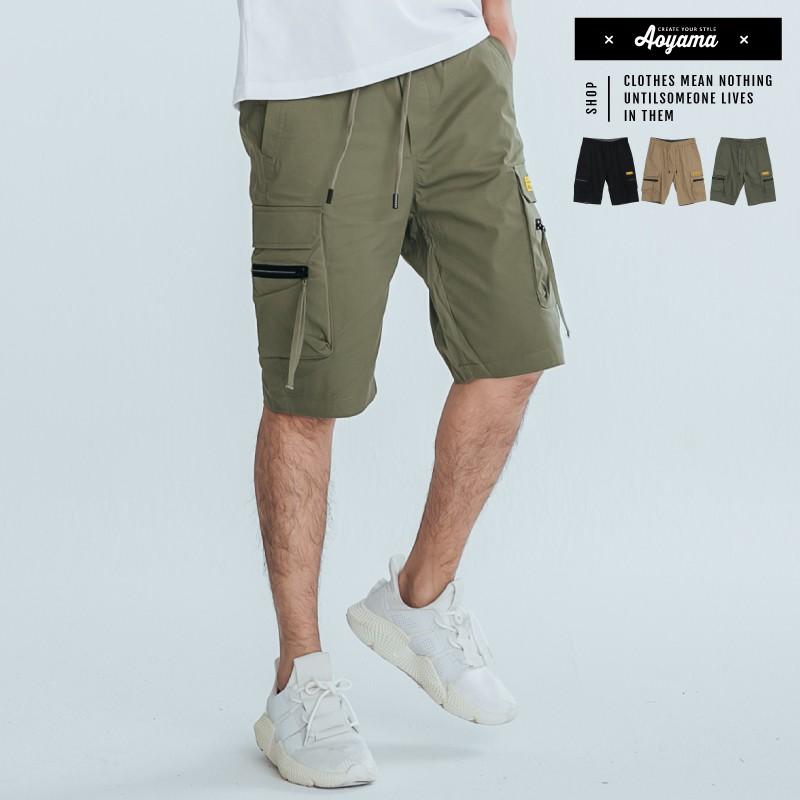 AOYAMA 高街潮流多口袋工作短褲【PC39002】多口袋 短褲 休閒褲 青山