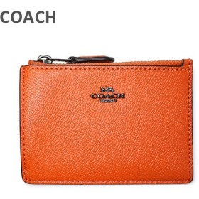 COACH コーチ 財布 57841 DKMAN Mandarin レザー 小銭入れ/カード入れ/パスケース ウォレット レディース