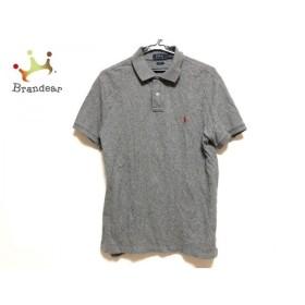 ポロラルフローレン POLObyRalphLauren 半袖ポロシャツ サイズL メンズ グレー 新着 20190712