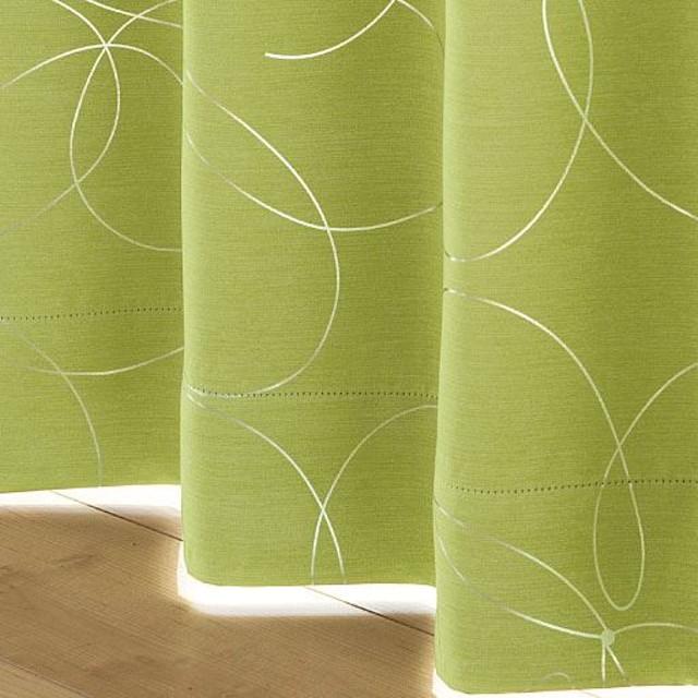 美しい曲線の花モチーフ1級遮光カーテン(形状記憶) - セシール ■カラー:ピンク グリーン ダークブラウン アイボリクリーム ■サイズ:幅100×丈178cm(2枚組),幅130×丈135cm(2枚組),幅100×丈95cm(2枚組),幅150×丈185cm(2枚組),幅150×丈225cm(2枚組),幅130×丈110cm(2枚組),幅130×丈120cm(2枚組),幅130×丈170cm(2枚組),幅130×丈225cm(2枚組),幅200×丈230cm(1枚物),幅130×丈240cm(2枚組),