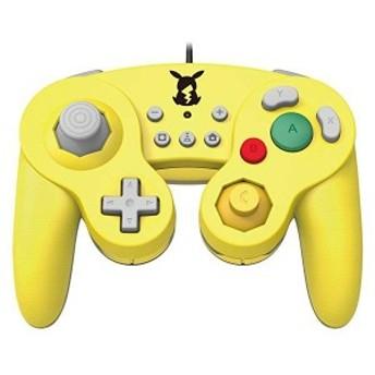 任天堂ライセンス商品 ホリ クラシックコントローラー(ゲームキューブ) for Nintendo Switch ピカチュウ