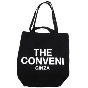 THE CONVENI 缶付きロゴトートバッグ ブラック (池袋店) 190712