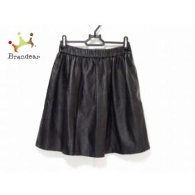 セオリーリュクス theory luxe スカート サイズ38 M レディース 黒 レザー   スペシャル特価 20191013