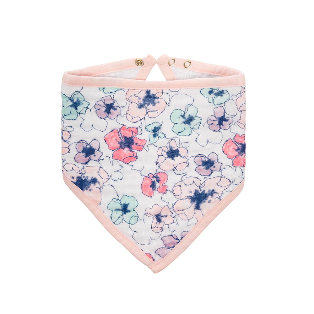 美國Aden & Anais 經典三角巾-沙漠駱駝/花卉